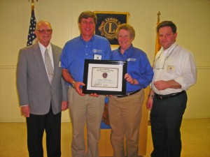 Rogan & Wist Receive OC Lions Club Highest Award