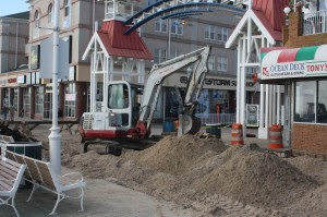 NEW FOR THURSDAY: Boardwalk Reconstruction Underway In Ocean City