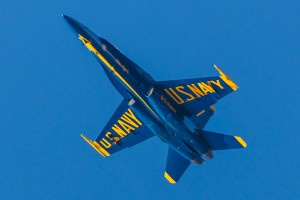 NEW FOR MONDAY: Blue Angels Scout OC In Advance Of Next Year's Show