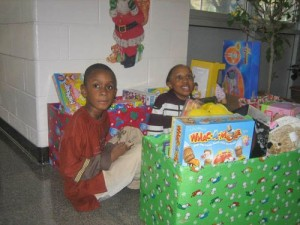 Cedar Chapel Special School Students Donate to Toys for Tots