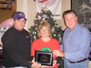 McEvoy Presented With Raven Roost #58 Volunteer Of The Year