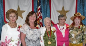 Five Local Gold Star Mothers Honored