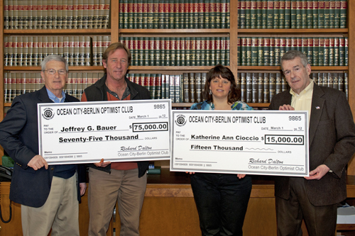 2012 Optimists Lottery Winners