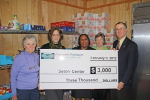 Community Foundation Of The Eastern Shore Awards $2,000 To Seton Center