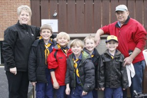 Wolf Den Pack 589 Participates In Recycling Program