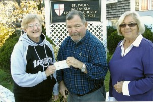Ladies Ancient Order Of Hibernians Make Donation To Noel Christmas Dinner