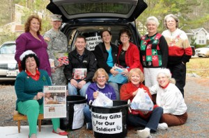 Star Charities Volunteers Gather Gifts For Soldiers In Afghanistans