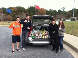 Salisbury Key Club Organizes Food Drive To Support Diakonia
