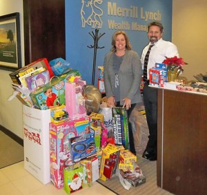 Merrill Lynch OC Hosts Annual Toys For Tots Drive