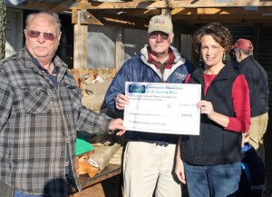 CFES Donated $500 To Mason Dixon Woodworkers Club