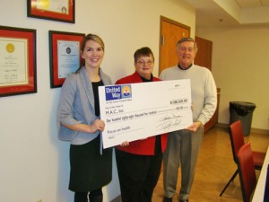United Way Makes Huge Donation To Senior Programs