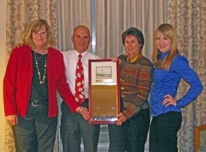 Klump Recognized For Distinctive Volunteer Efforts