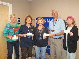 Kiwanis Club Of OP/OC Donates Money To Local Schools