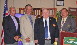 OC/Berlin Rotary 2012-2013 Officers Installed