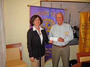 Easter Seals Receive $1,000 Donation From OC/Berlin Rotary Club