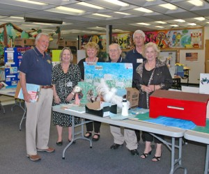 Showell Elementary School's Art Contest Judged By Kiwanis Club