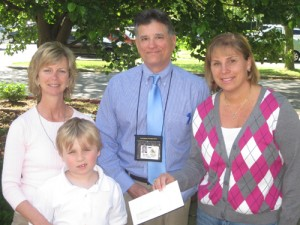 Autistic Children Support Group Presented With Check From Buckingham Elementary