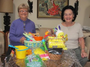 Republican Women Of Worcester County Show Their Purchases From Worcester GOLD's Spring Holiday Basket Program