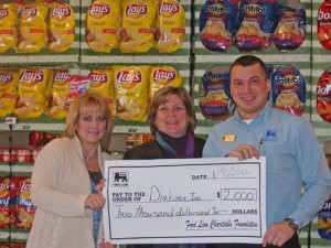 Food Lion Charitable Foundation Presents $2,000 Grant To Diakonia