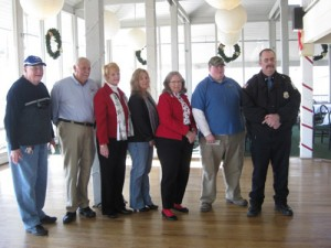 Pine'eer Craft Club Presents Checks To Several Organizations Of OP