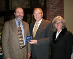 Cowall Receives Coastal Hospice Jean Camie Jackson Heart Of Hospice Award