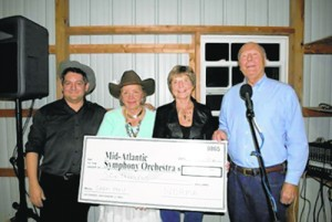 Mid-Atlantic Symphony Receives Donation