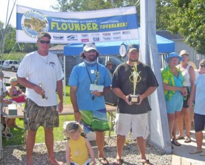 Johnson Wins OP Annual Flounder Tournament