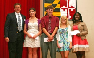 SH High School Seniors Presented With Scholarships From SH Rotary Club