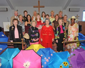 5th Annual Tea & Fashion Show Held At Community Church At OP