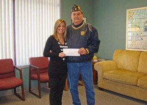American Legion Post 166 Donates $500 To Worcester Youth And Family