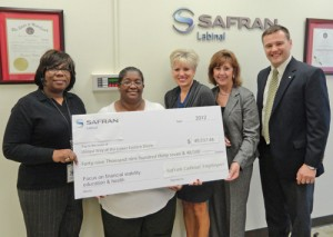 United Way Recognizes Safran Labinal For Countinuous Support