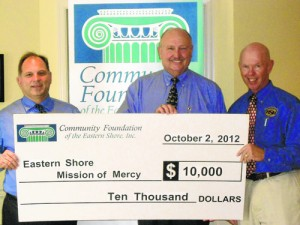Community Foundation Presents Eastern Shore Mission Of Mercy With $10K Grant