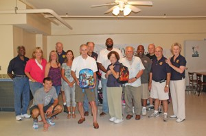 620 Book Bags Full Of Supplies Distributed By Rotary Clubs