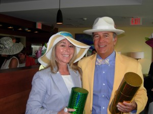 Green And Knight Captain's Table Preakness Hat Contest Winners