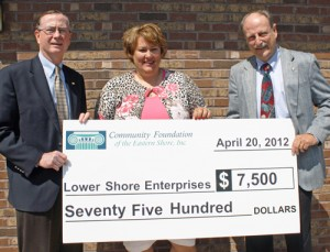 Community Foundation Awards $7,500 Community Needs Grant To Lower Shore Enterprises
