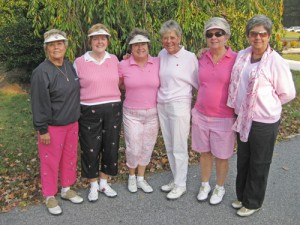 Nine Hole OP Ladies Golf Asso. Held Its Pink Lady Golf Tournament