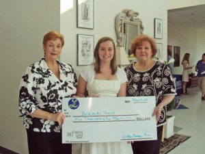 The OC Lioness's Club Presents Scholarship Award