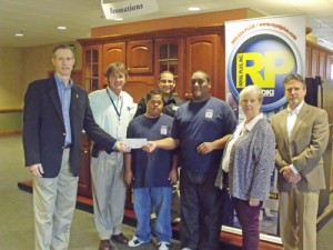 Royal Plus Inc. Presents Check To The Lower Shore Parkinson's Support Group