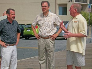 Congressman Talks Jobs, Economy During Resort Stop