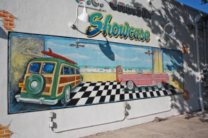 Downtown Wall Now Home To Unique Beach Mural