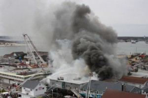 Monday, March 31 – Boardwalk Fire Destroys Businesses