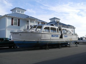 Retired Water Taxi Ready For Sinking Off Coast