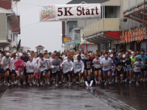 Seaside 10/5K Held In Rain, Wind