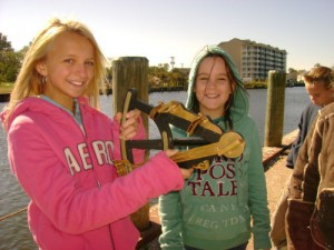 BIS Fifth Graders Visit 18th Century Ship