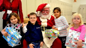 Worcester Prep Students Select Gifts For Sheriff's Office's Annual Needy Program