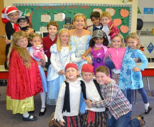 Worcester Prep First Graders Have Fun During Book Character Day