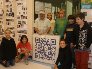 Sixth Grade Students At Berlin Intermediate Create QR Code In After School Academy