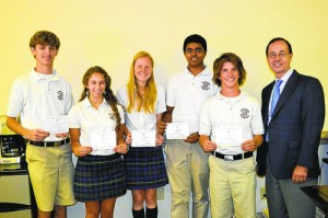 Worcester Prep Honors National Merit Scholarship Commended Students