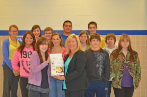 SD High Makes Donation To Humane Society