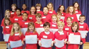 OC Elementary School January Students Of The Month